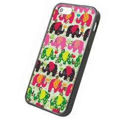 Lovely Elephant - iphone 4 4s case iphone 5 5s 5c case iphone 6 6 plus case ipod touch 4 5 case, Galaxy S2 3 4 mini S5 note 1 2 3 case